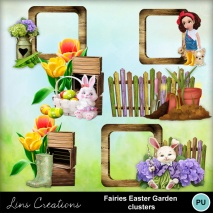 Fairies easter garden1
