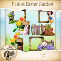 Fairies easter garden10