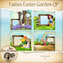 Fairies easter garden11