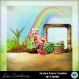 Fairies easter garden4