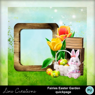 Fairies easter garden6