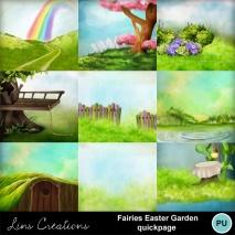 Fairies easter garden7