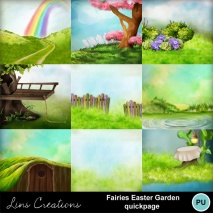 Fairies easter garden7