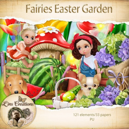 Fairies easter garden8
