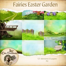 Fairies easter garden9