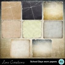 schooldayswornpapers