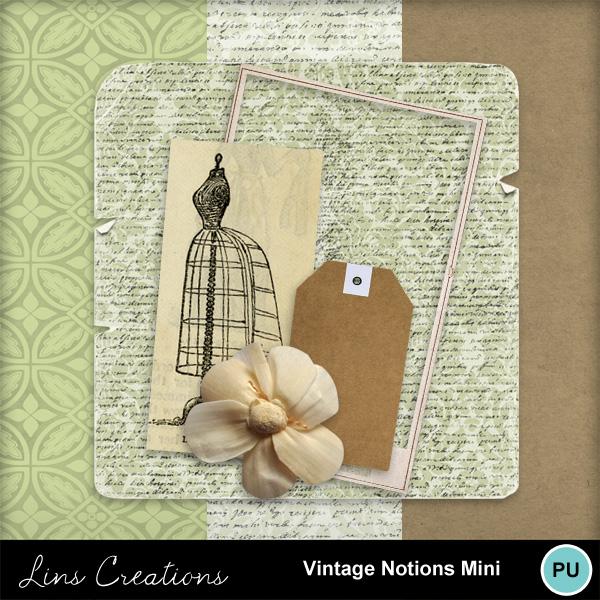 vintage notions mini